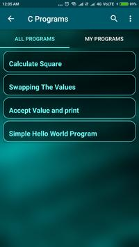 C Programs - Browse & Share Code screenshot 1