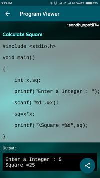 C Programs - Browse & Share Code screenshot 8