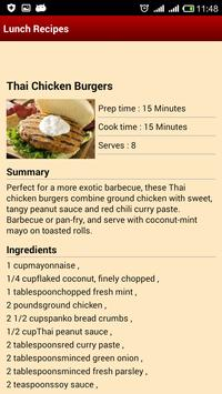 Lunch Recipes screenshot 2