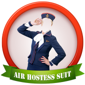 Hot Air Hostess Photo Suit icon