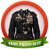 New Army Photo Suit Editor icon