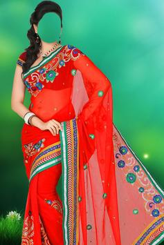 Indian Woman Dress Photo Suit poster