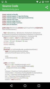 Secret Number with Source Code screenshot 1