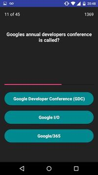 You Know Google? Quiz poster