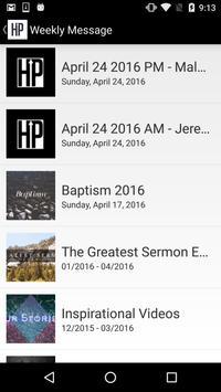 HP Baptist Church apk screenshot