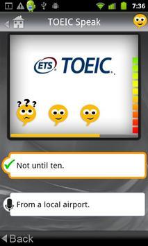 SpeakingPal plus TOEIC® apk screenshot