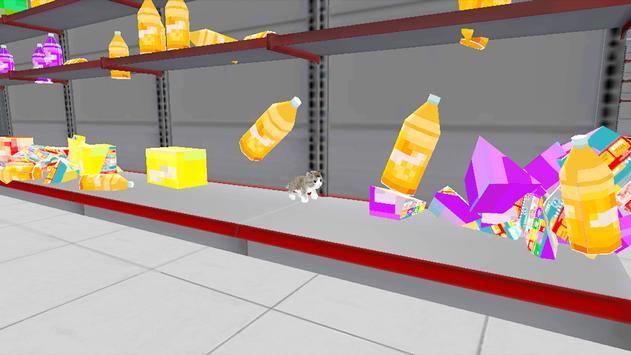 Kitten Cat Craft:Destroy Super Market Ep2 screenshot 5