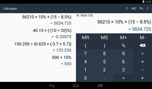 Calculator 截图 6