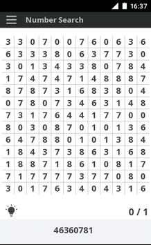 Number Search screenshot 2