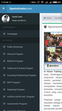 Training SpectraCentre apk screenshot