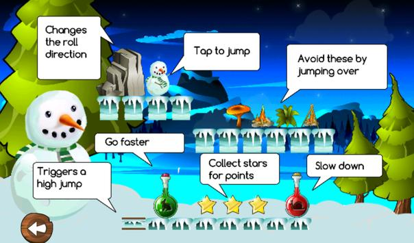 Frozen Snowman Run screenshot 1