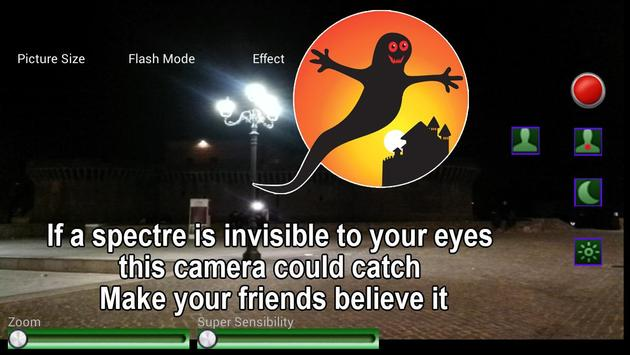 Spectre finder camera apk screenshot