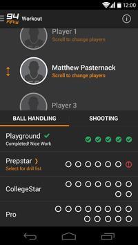 94Fifty® Basketball स्क्रीनशॉट 1