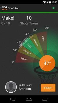 94Fifty® Basketball captura de pantalla 2