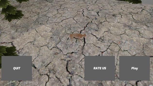 Cute Gazelle Simulator poster