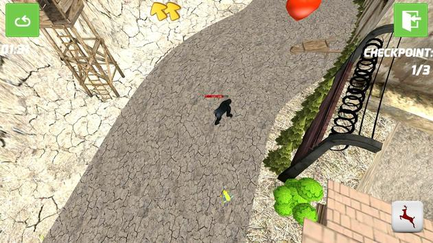Big Gorilla Simulator apk screenshot