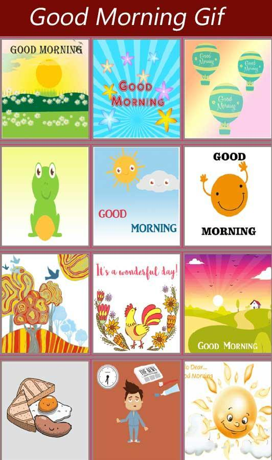 Good Morning Love Gif for Android - APK Download