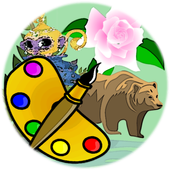 Shimmer Coloring Book icon