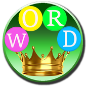 Word Crown: Four Letters words icon
