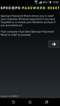 Specops Password Reset poster