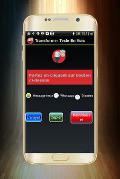 Transformer Voix En Texte -Parole en texte- screenshot 2
