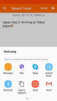 SpeechTexter - Speech to Text screenshot 4