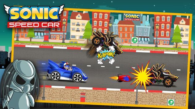 Speed Sonic Car apk screenshot