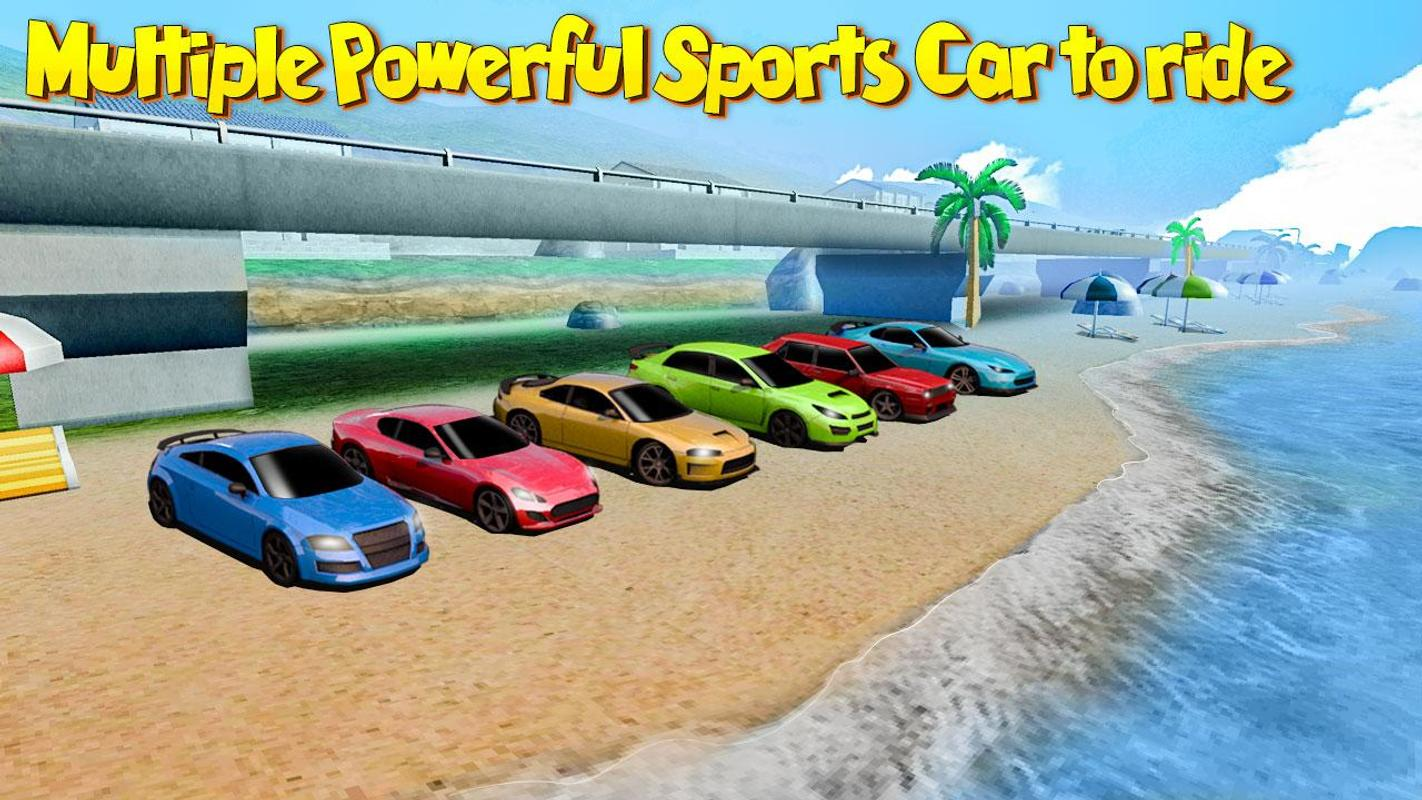 High speed death car stunt mania racing game free for android.