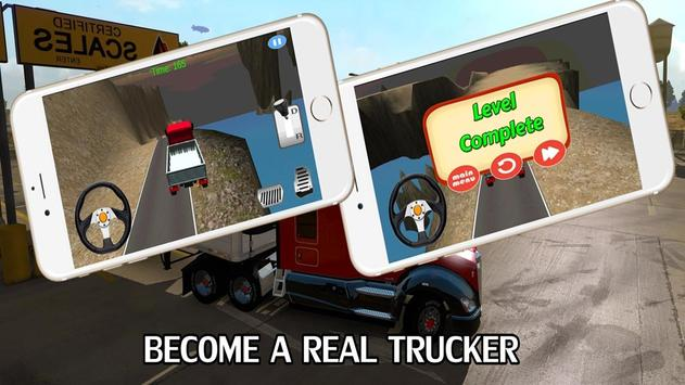 Cargo Truck Driver poster