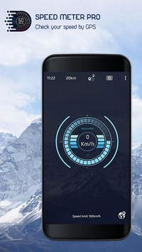 Easy Speedometer Offline - GPS Speed Odometer screenshot 1