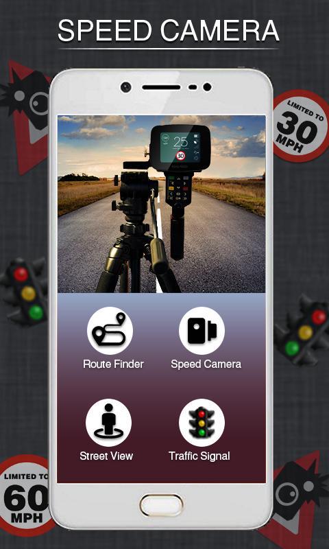 Radar Detector App >> Speed Cameras Radar Detector Gps Speedometer App For