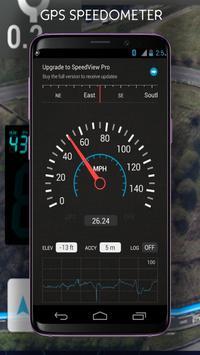 Gps Speedometer KPH & Odometer poster