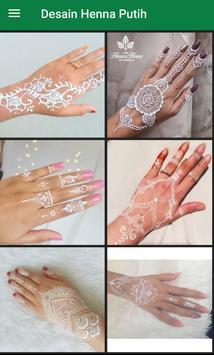 Desain Henna Putih For Android Apk Download