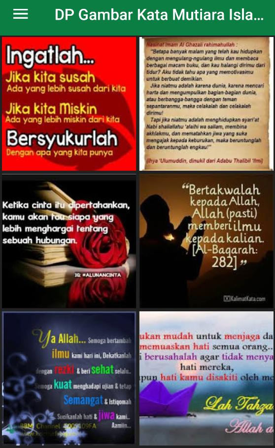 Dp Kata Mutiara Islami Terbaru For Android Apk Download