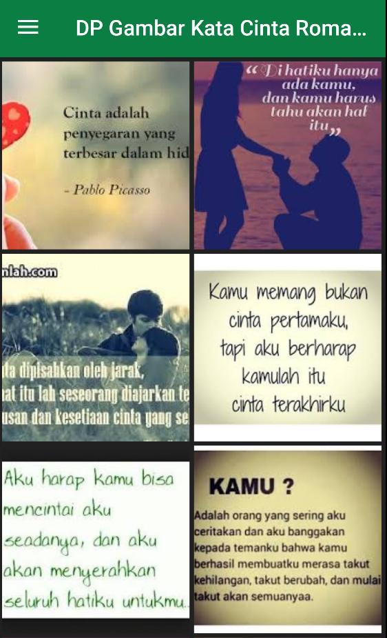Dp Gambar Kata Cinta Romantis For Android Apk Download