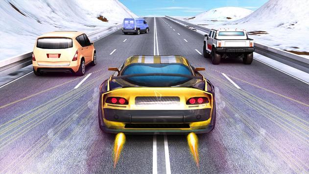 Speed Traffic Car Racing 2017 screenshot 1