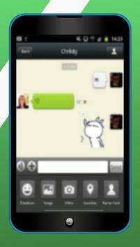 Guide Wechat Messaging and calling app poster
