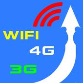 3G, 4G, WiFi Signal Setting icon