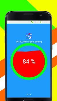 3G, 4G, WiFi Signal Setting poster