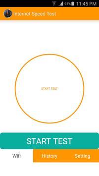 Internet Speed Test apk screenshot