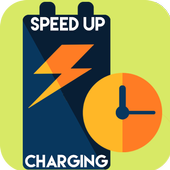 speed up battery charging icon
