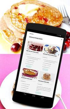 Vegan Recipes - Pancakes poster