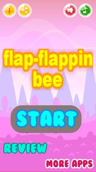 flap flapping bee poster