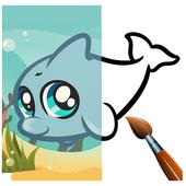 Kid Coloring Book icon