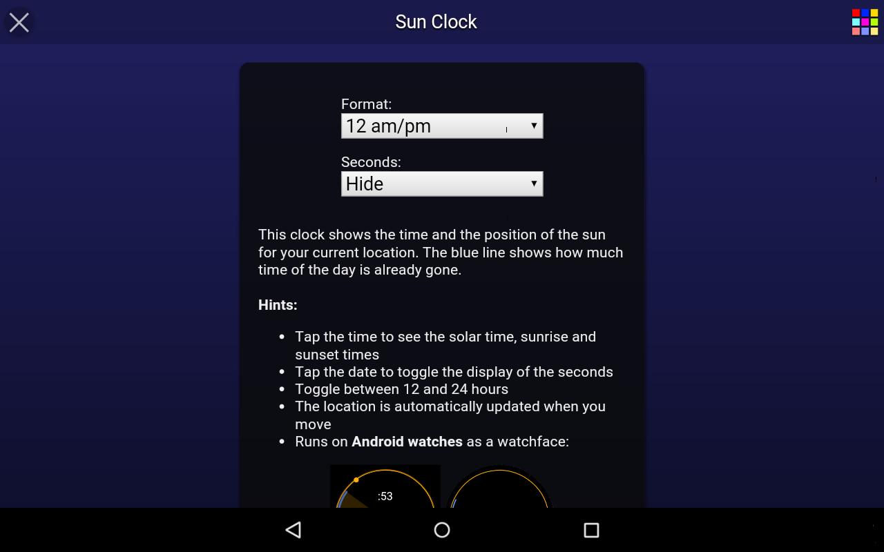 Sun Clock Free for Android - APK Download