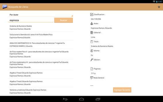 BiblioMat apk screenshot