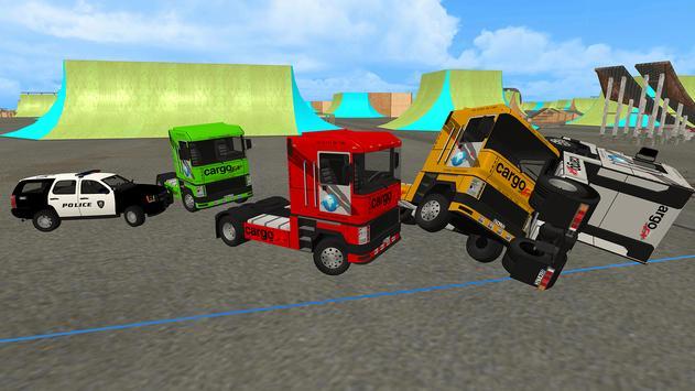 Euro Truck Chase: Skate car-Cop screenshot 12