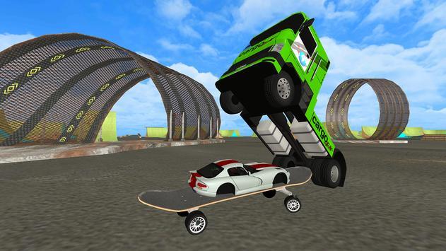 Euro Truck Chase: Skate car-Cop screenshot 13