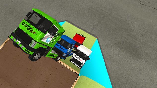 Euro Truck Chase: Skate car-Cop screenshot 4