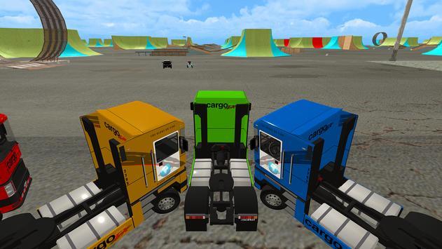 Euro Truck Chase: Skate car-Cop screenshot 5